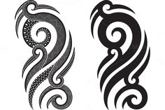 Check out Maori tattoo patterns (5x) by Artefy's Graphic Bar on Creative Market