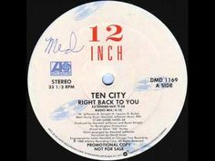 DJ Days: Ten City - Right Back To You (Original Extended Mix)