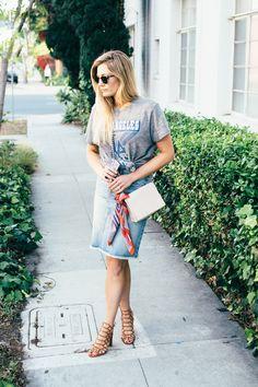 Devon Rachel: T-Shirt Styling Tips