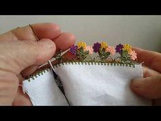 Diy Crochet Stitches, Crochet Diy, Crochet Borders, Crochet Motif, Crochet Flowers, Hand Embroidery Videos, Embroidery Stitches, Saree Tassels Designs, Creative Embroidery
