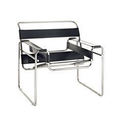 Strappy Lounge Chair - Black | dotandbo.com