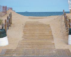 Sandbridge, VA...I can feel the hot sand between my toes as I walk up that Boardwalk!!