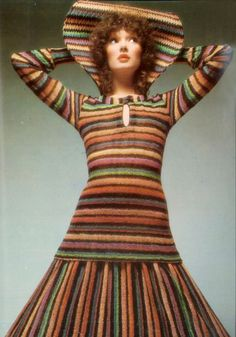 Missoni. Photo by Barry Lategan for Vogue Italia, 1971.