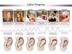 A szülés folyamata