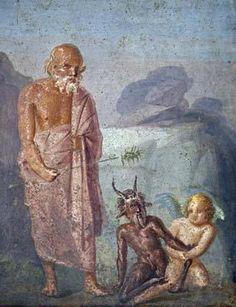 Pompei, 1st cent AD fresco
