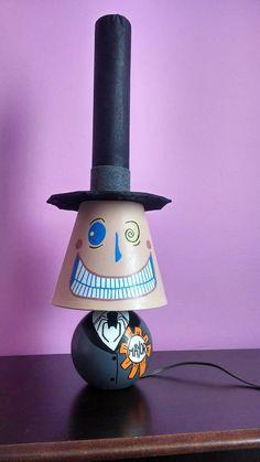 Nightmare Before Christmas mayor lamp