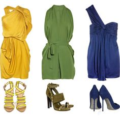 Image detail for -wedding multi colored options by mulher mil featuring lanvin dresses