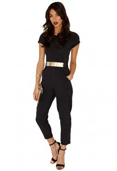 Polly Belted Jumpsuit - Jumpsuits & Playsuits - Clothing - Missguided