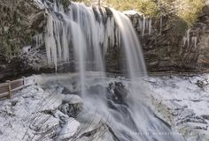 Winter's Beauty Hits Franklin - Franklin Chamber of Commerce Chamber Of Commerce, Winter Beauty, Waterfall, Outdoor, Outdoors, Outdoor Games, The Great Outdoors, Waterfalls