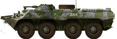 BTR-80 in Afghanistan, 1988-1989