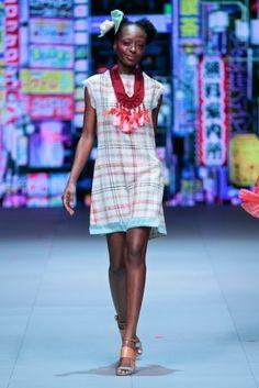 Stefania Morland ~ 2014 Mercedes-Benz Fashion Week - Cape Town