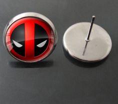 See related links to what you are looking for. Deadpool Gifts, Dead Pool, Volkswagen Logo, Earrings, Ear Rings, Stud Earrings, Ear Piercings, Ear Jewelry, Beaded Earrings Native