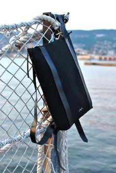 Waterproof canvas backpack durable backpack minimalist back