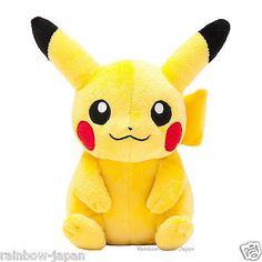 Nintendo Official Pikachu Stuffed Toy Pokemon Center Original Plush Doll JAPAN