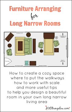 Creative Space Long Narrow Room Difficult To Decorate Fireplaces Furniture And Rooms Furniture