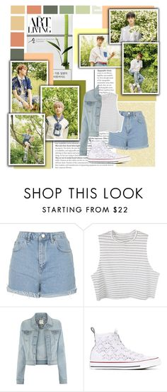 """""""ASTRO"""" by ninaxo17 on Polyvore featuring Topshop, Converse, kpop and Astro"""