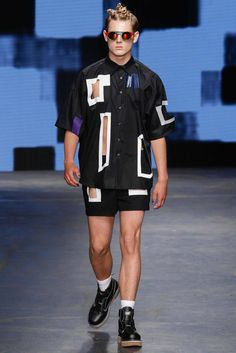 Christopher Shannon Spring 2015 Menswear - Collection - Gallery - Style.com