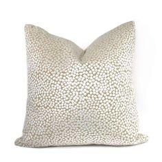 Catelyn White Velvet Dots Pillow Cover Cushion Pillow Case Euro Sham Lumbar Pillow by Aloriam Cream Pillow Covers, 20x20 Pillow Covers, Decorative Pillow Covers, Cushion Pillow, Lumbar Pillow, White Velvet, Geometric Pillow, Beige Background, White Pillows