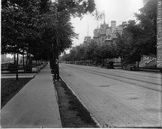 La Grande-Allée de Québec en 1916, Wm. Notman & Son Quebec Montreal, Old Quebec, Quebec City, Saint Louis, Saint Jean, Chute Montmorency, Chateau Frontenac, Le Petit Champlain, Canada