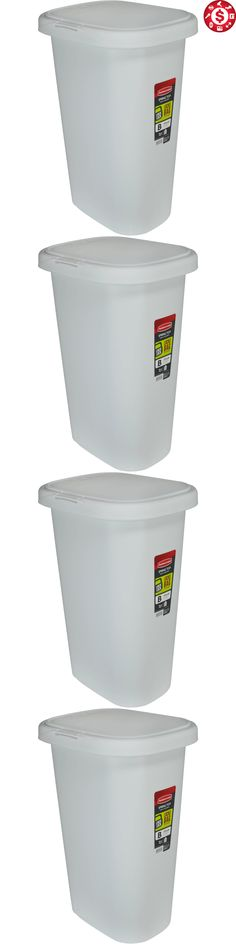 Trash Cans And Wastebaskets Trash Cans And Wastebaskets 20608 New Rubbermaid 30Gallon Kitchen