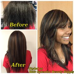 Full sewin by owner, Kim Before After Hair, Beauty Supply, Hair Beauty, Long Hair Styles, Long Hairstyle, Long Haircuts, Long Hair Cuts, Long Hairstyles
