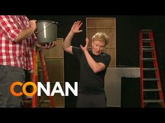 Conan Takes The ALS Ice Bucket Challenge - YouTube