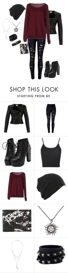 """""""When I Meet The Walking Dead Cast"""" by lizziejadef ❤ liked on Polyvore featuring Temperley London, WithChic, Topshop, Fred Perry, Charlotte Russe and Valentino"""