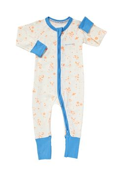 Zip Wondersuit in pop sunset galaxy from Bonds - great color and print on a great basic