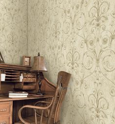 Brewster Home Fashions University of Oxford Curlicue Scroll x Wallpaper Roll Brick Wallpaper Roll, Damask Wallpaper, Embossed Wallpaper, Wallpaper Panels, Geometric Wallpaper, Textured Wallpaper, Faux Granite, Cool Walls, Oxford