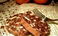 Salame al cioccolato e al caffè - Il salame al cioccolato e al caffè è un buonissimo dessert. Si prepara con ingredienti scelti ed è delizioso da accompagnare ad una piccola pausa davanti ad una tazza di caffè.
