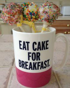 {on the blog celebrating with cake pops!} #cakepops #foodie #food #sweets #dessert #baking #baker #cake #cakepops #recipe #yummy #eatcakeforbreakfast #katespade #sprinkles #delicious #blogger