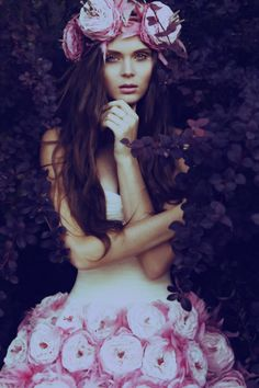 ❀ Flower Maiden Fantasy ❀ beautiful photography of women and flowers -  Alena Ivanova