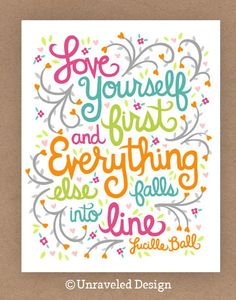 11x14-in Lucille Ball Quote Illustration.. $35.00, via Etsy.