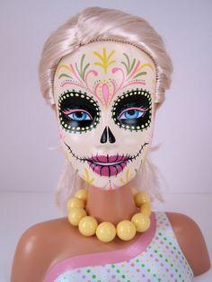 Barbie sugar skull.