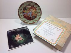 VILLEROY BOCH Once Upon A Rhyme Tom Tom the Piper's Son Plate Box COA EUC NOS
