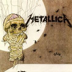 Pushead aka Brian Schroeder - Heavy Metal Artwork