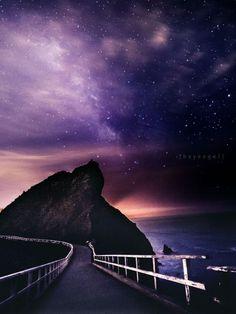 The Milky Way at Point Bonita by Engel Ching - sfgate