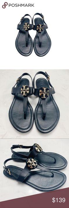 712e1cf09 Tory Burch Miller Slingback Sandal Tory Burch Slingback leather sandal in  black. Gently used in