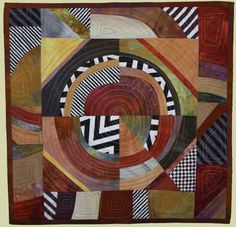 """Image of quilt titled """"Anasazi Impressions"""" by Louise Harris"""