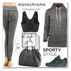 """""""Sporty Style"""" by jecakns ❤ liked on Polyvore featuring NIKE and Whiteley"""