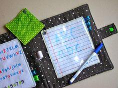 Trucs de Maëliane, le blog.: Coussin d'apprentissage pour petites mains de petite section! ^^