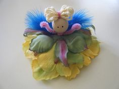 flower fairy DIY from what remains now