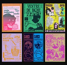 """""""Oddities, clumsiness and dogs"""": the mischievous output of designer Félicité Landrivon Graphic Design Posters, Graphic Design Typography, Graphic Design Illustration, Graphic Design Inspiration, Hipster Graphic Design, Buch Design, Art Design, Cover Design, Design Layouts"""