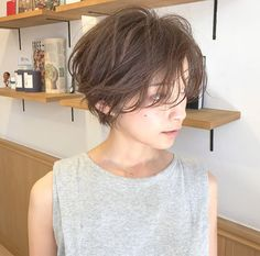 無造作ショートでかっこいい大人に♡ 祖父江基志 | NOESALON