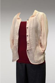 Lace Collar Blouse/Jacket