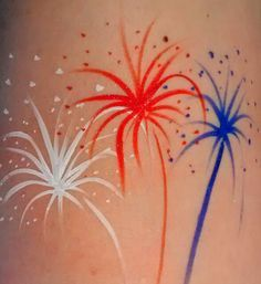 firework facepaint - Google Search
