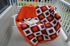 Virginia Tech blanket... anyone love me enough to make me one?!?