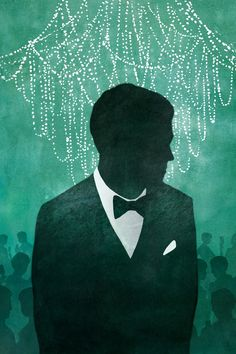 Alyssa Scott's winning artwork submission for the Great Gatsby art contest