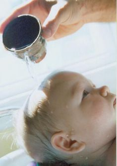 In the Christian tradition, it is heavily debated WHEN a person should be baptized.