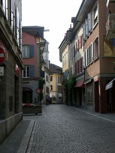 I'll be staying in this lovely little town of Lutry, Switzerland on New Year's Eve.